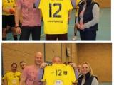Heren DSC Handbal in nieuwe shirts