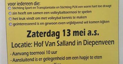 3e editie Rogier Berris volleybal toernooi