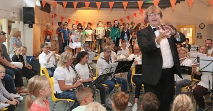 Spetterend optreden op de Slingerbosschool
