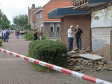 Grote schade na plofkraak pinautomaat Rabobank