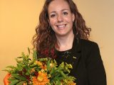 Lucie Klein Ovink-Boomkamp 25 jaar lid. Fotografie Harry Mulder