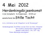 Grote opkomst 4 mei herdenking Diepenveen