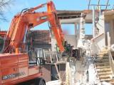 Fotoreportage sloop-werkzaamheden Strepenkamp