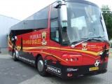 Spelersbus GA Eagles ontworpen door Diepenvener