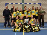 DSC Handbal Dames 1 in nieuw tenue